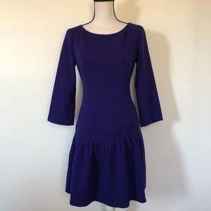 Eliza J Nordstrom Drop Waist 3/4 Sleeves Dress